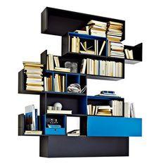 Bibliothèque Fortepiano - Molteni - Marie Claire Maison