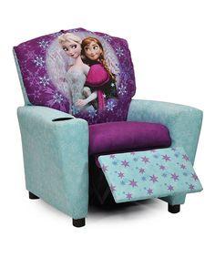 Look At This Frozen Blue U0026 Purple Elsa U0026 Anna Recliner On #zulily ...