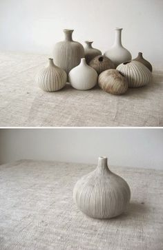 Pebble vases by Lindform