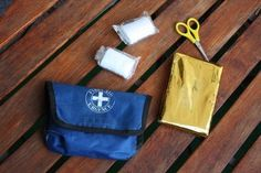 How to Make a Junior Girl Scout First Aid Kit