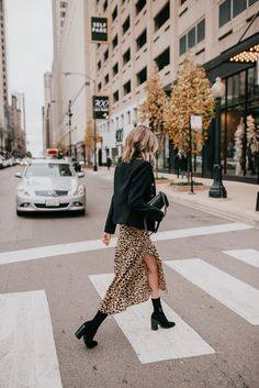leopard midi dress how to style andn wear three ways - See (Anna) Jane., Source by dress street style Look Fashion, Skirt Fashion, Fashion Outfits, Fashion Ideas, Womens Fashion, Fashion Tag, Cheap Fashion, White Fashion, Unique Fashion