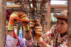 """Galería - Arquitectos y mujeres """"Khmer"""" construyen un centro comunitario utilizando tela y hormigón - 7"""