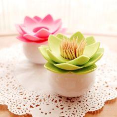 INFMETRY:: Lotus Toothpick Holder