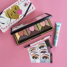 Have you tried the NEW Too Faced Love Passionately Pretty Eye Shadow Collection? #toofaced