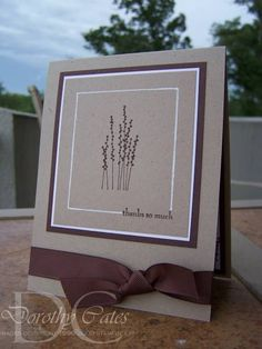 Chocolate Pocket Thanks by smartblonde_2000 - Cards and Paper Crafts at Splitcoaststampers
