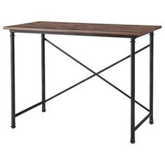 Cheap desk from Target | Use it as an entryway table | Looks like Restoration Hardware | House Of Thrift