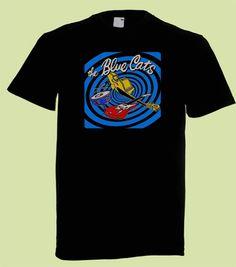 15€ Blue Cats | Nitroboy L tai XL Myös jollain muulla kuvalla kyseisen bändin T-paita käy. :)