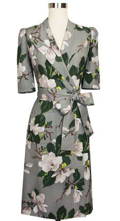 Wrap yourself in flowers in the Trashy Diva Hepburn Robe in Steel Magnolias!