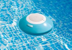 Floating Pool Speaker with LED Light - Intex Recreation Corp. Swimming Gear, Swimming Pool House, Swimming Pools, Floating Globe, Floating Lights, Intex Above Ground Pools, In Ground Pools, Stand Up Lights, Easy Set Pools