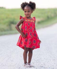 Love this Red Princess Ruffle Dress - Toddler & Girls on #zulily! #zulilyfinds