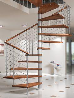 Escalera de caracol, modelo SILVER de Maydisa