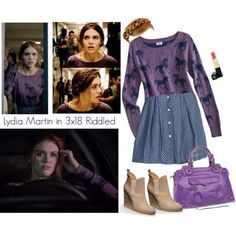 Lydia Martin 3x18 Riddled Pt. 2 by saniday on Polyvore featuring mode, Mossimo, Maison Jules and Chanel