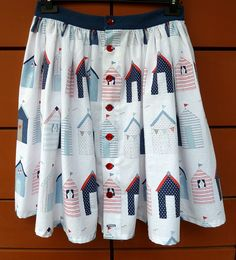 Self-drafter Tilly picnic skirt http://asewingodyssey.blogspot.co.uk/2012/06/picnic-at-beach-tilly-skirt.html
