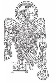 Irish Celtic Pattern Coloring Pictures To Print And Color