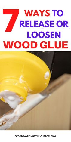 Can you release wood glue?  Get 7 different methods on how to loosen or release wood glue. Use the methods and techniques and ensure your wood separates safely.    Your wood sign DIY and wood DIY crafts are easy to separate from the glue. Brought to you by Woodworking By LPI for the purpose of providing information on how to release and loosen your wood glue from your wood sign DIY ideas and wood crafts to make. #woodsigndiy #wooddiycrafts #woodcraftstomake #woodworkingbylpi Outdoor Wood Signs, Diy Wood Signs, Painted Wood Signs, Shop Ideas, Diy Ideas, Crafts To Make, Diy Crafts, Different Types Of Wood, Wood Gifts