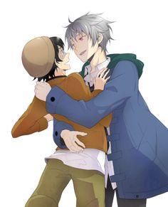 Future Diary Akise and Yuki   ... yaoi boys love akise aru amano yukiteru akise yukiteru future diary