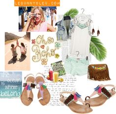 """LeBunny Bleu - Tuffed for you Sandals"" by lebunnybleu on Polyvore"