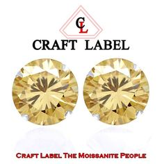 """1.25 Ct Genuine Golden 10K White Gold Solitaire Stud Earrings """"Mother\'s Day Gift"""". Starting at $1"""