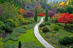 Gardens – mountain landscape