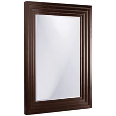 Howard Elliott Delano Espresso Tall Mirror 43058SM