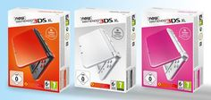"Nintendo of Europe pe Twitter: ""Three new colours of New Nintendo #3DS XL systems arrive in stores on 11/11 https://t.co/PnSN56Okrm"""