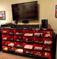 Every video game console! Nintendo Playstation XBOX Atari