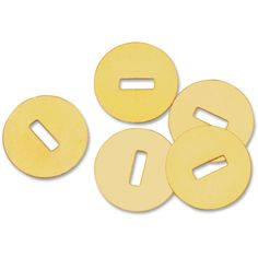 Gem Office Products Brass Washers Flat Washer - 100 / Box - (See this on -> http://www.officediscountclub.com/Products/Gem-Office-Products-Brass-Washers__GEM812C.aspx)