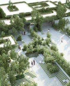 Gallery of A New Landscape by Penda Is Inspired by Indian Stepwells and Water Mazes - 2