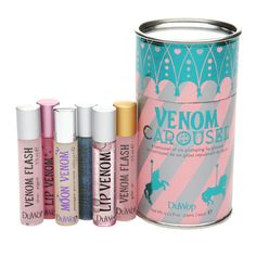 DuWop Venom Carousel ($101 Value) | $49.00 Visit Beauty.com For More #Lips #Beauty #MostPinned