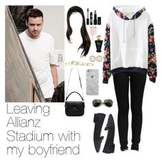 """""""Leaving Allianz Stadium with Liam"""" by myllenna-malik ❤ liked on Polyvore featuring Sam Edelman, Rouge Bunny Rouge, INIKA, Essie, Ippolita, Kendra Scott, Kate Spade, Uncommon, Wildfox and OneDirection"""