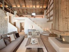 fineinteriors: Restored Engadin (built in 1680) house near St. Moritz listed by Sotheby's Realty.