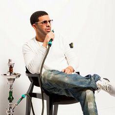 Drake Smoking Hookah. Shisha Shop, 11-13 Fairways Business Park, Lammas Road, London E10 7QB 020 8133 3263. #shisha #coals #hookah #shishaflavours #flavours #shisha #celebrity #charcoal #shishapipe