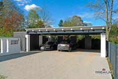 Carport Designs, Carport Ideas, Carports, Bauhaus, Canopy, Architecture Design, Garden Design, Garage Doors, New Homes