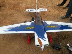 Thunderbird RC plane