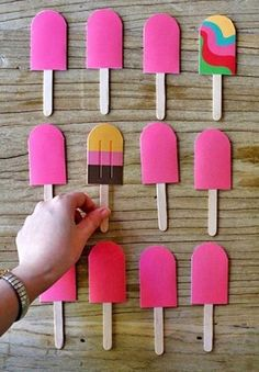 From Popsicles to Craft Projects ⋆ Handmade Charlotte Games For Small Kids, Camping Games For Adults, Summer Crafts, Diy Crafts For Kids, Fun Crafts, Preschool Crafts, Summer Activities For Kids, Fun Activities, Fun Christmas