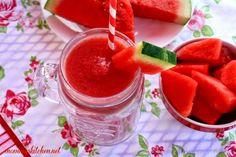 Mommy's Kitchen - Watermelon - Strawberry Smoothie {Locally Grown Watermelons} #WMTmoms @Walmart