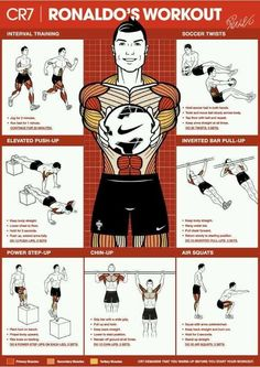 cristiano ronaldo workout, so doing this! cristiano ronaldo workout, so doing this! ronaldo workout, so doing this! Fitness Workouts, Gym Workout Tips, Sport Fitness, Fitness Motivation, Mental Training, Body Training, Soccer Training, Bodybuilding Training, Bodybuilding Workouts