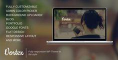 New Wordpress Theme from Fragrance #themeforest #theme #wordpress #wordpresstheme #layout #design #clean