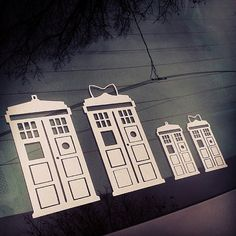 So perfect for my family... TARDIS Family  Doctor Who Car Decal Sticker by TurboNerd on Etsy, $8.00