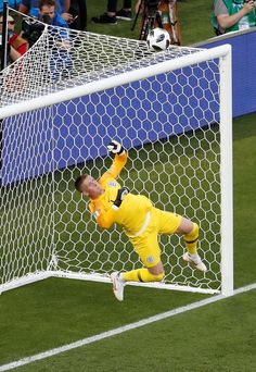 England's Jordan Pickford makes an early save from a long-range strike by Youri Tielemans in the World Cup v. World Cup 2018, Fifa World Cup, Gareth Southgate, Sports Personality, Everton Fc, England Football, Sunderland, S Man, Goalkeeper