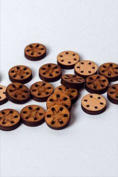 An asterisk is formed as you sew through the holes. Designed and made by Arrow Mountain. #BeyondMeasure #ArrowMountain #button #wooden #round Arrow, Bamboo, It Is Finished, Mountain, Sew, Buttons, Design, Arrows, Sewing