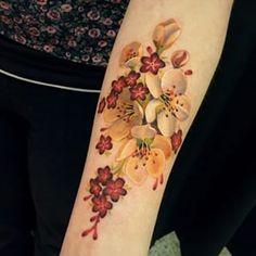 FLOWER bouquet tattoo - חיפוש ב-Google