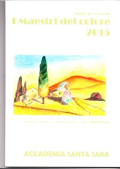 """I Maestri del colore 2015 #contemporaryart #artbooks Published my work in the #catalogue """"The Masters of Color 2015"""""""