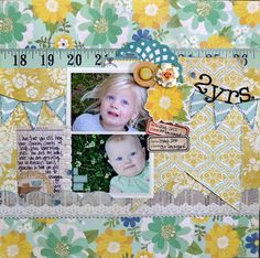 NoelMignon.com Layouts and Projects: Virginia - Evening Stroll kit
