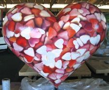 Candy hearts heart