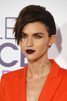 Ruby Rose's Messy Pixie - 50 Celeb Hairstyles You'll Want to Copy - Photos