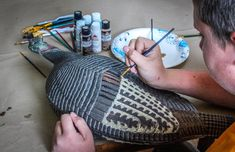 Learn how to paint an old or inexpensive turkey hunting decoy and make it look nearly as good as one of the more expensive models to fool even wily longbeards.