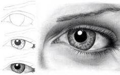 Drawing Techniques Get Free Step By Step Tutorials: Step By Step Drawing Tutorial To Draw Human Eyes - Realistic Eye Drawing, Drawing Eyes, Painting & Drawing, Human Drawing, Drawing Lessons, Drawing Techniques, Ninja Kunst, Illustrator, 3d Drawings