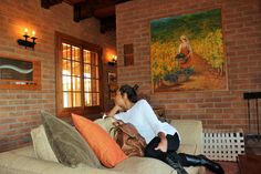 Chile, Santa Cruz, Valle Colchagua, Viña MontGras Chile, Painting, Art, Santa Cruz, Saints, First Night Romance, Tourism, Art Background, Painting Art