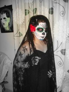 "Disfraz ""Catrina"", la calavera mexicana"